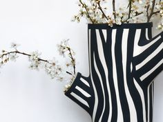 Medium White Tree Trunk Vase by Wrong for HAY