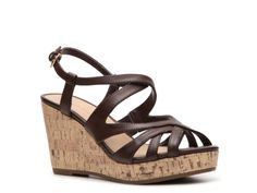 Kelly & Katie Janine Wedge Sandal, or these! I want them in red, they are so cute!