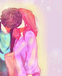 Anime Couples Ao Haru Ride-- I read this manga in record time. I could not peel myself away from this story. OMG think imma read it again haha Manga Anime, Fanart Manga, Anime Amor, Anime Kiss, Couple Manga, Anime Love Couple, I Love Anime, Ao Haru Ride Anime, Noragami