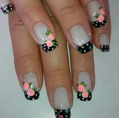 The 90 Vigorous Early Spring Nails Art Designs are so perfect for this Season Hope they can inspire you and read the article to get the gallery. Fabulous Nails, Gorgeous Nails, Pretty Nails, Spring Nail Art, Spring Nails, Finger Nail Art, Flower Nails, Creative Nails, Cool Nail Designs