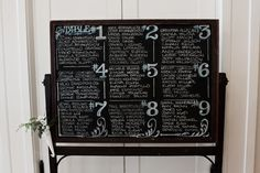 Stylish Seating Chart Ideas to Welcome Your Guests - Quinceanera