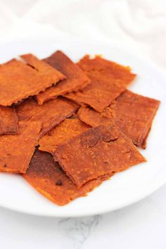 These Sweet Potato Crackers contain only a handful of ingredients and are simple to make. They're also gluten-free, dairy-free, egg-free, nut-free, and autoimmune protocol-friendly! Gluten Free Recipes, Vegan Recipes, Snack Recipes, Cooking Recipes, Whole30 Recipes, Easy Cooking, Diet Recipes, Chutney, Good Food