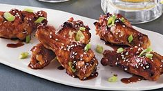 Enjoy these spicy molasses chicken drummettes - a perfect slow cooked dinner.