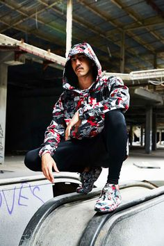 Swag Craze: Introducing the PUMA x Trapstar London 2016 Autumn/Winter Collection Online S, Store Online, London 2016, Camo Jacket, Denim And Supply, Dope Outfits, Unisex Fashion, Winter Collection, Fall Winter