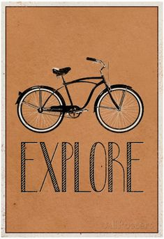 Explore Retro Bicycle Player Art Poster Print Posters at AllPosters.com