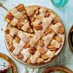 Dazzling Thanksgiving Pies: Cranberry-Apple Pie with Pecan Shortbread Crust