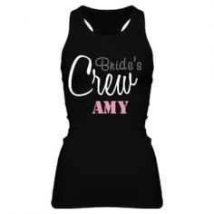 Custom Bachelorette Party Shirts, Tank Tops, & More