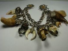 Charivari amulets, to be worn on lederhosen.