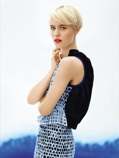 The Modern Bowl. Find our 5 favorite short haircuts on Vogue.com.