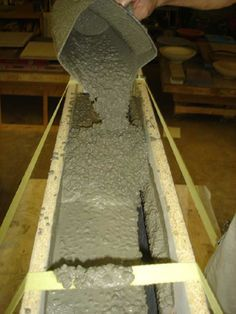 The best mix design for concrete counter tops. All about what makes a good mixture for concrete counter tops