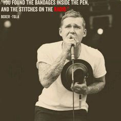 Boxer lyrics by The Gaslight Anthem. Brian Fallon, music, poetry