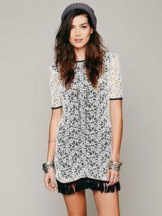 One Teaspoon Shambala Crochet Dress on shopstyle.com
