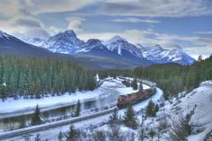 Image detail for -Take a Winter Wonderland Train Ride through the Canadian Rockies