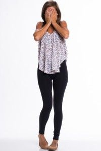 Wearing leggings as pants-- what not to do and what to do. SUCH A GOOD BLOG