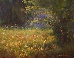 Sprinkled Wild Flowers by Kami Mendlik Oil ~ 11 x 14