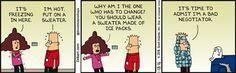Bad Negotiator -  Dilbert Comic Strip on 2016-01-18 | Dilbert by Scott Adams