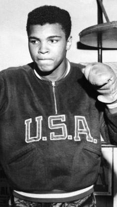 Muhammad Ali.  He was known as Cassius Clay during his run through the Olympics.