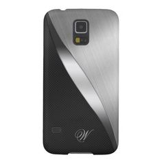 Carbon Fiber & Brushed Metal Galaxy S5 Cases