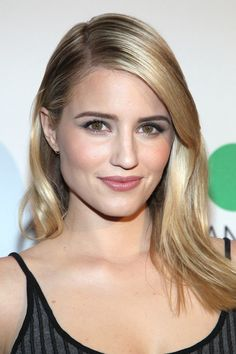 Dianna Agron with glowing #skin