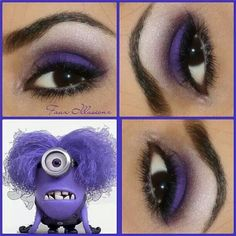 Inspired by a purple minion lol
