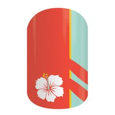 Pipeline | Jamberry Nails Surfs up! Hit the waves in style with this surfer-inspired design, 'Pipeline'. #PIPELINEJN