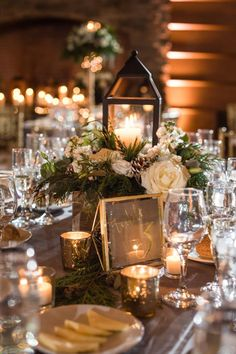 Elegant Winter Wedding by Danette Pascarella Photography. Find your New Jersey Wedding Vendors on Here Comes The Guide! Elegant Winter Wedding by Danette Pascarella Photography. Find your New Jersey Wedding Vendors on Here Comes The Guide! Winter Wedding Receptions, Winter Wedding Decorations, Wedding Venues, Wedding Ideas, Winter Weddings, Christmas Wedding Centerpieces, Beach Weddings, Decor Wedding, Wedding Favors