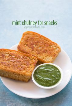 pudina chutney recipe with step by step photos - a versatile mint chutney recipe that can be used for sandwiches or can be served with any indian snacks like pakora, samosa, dhokla, khandvi, aloo tikki etc.    it