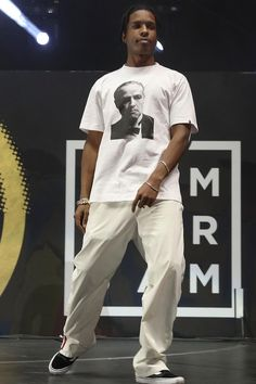 ASAP Rocky wearing Dolce