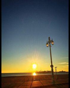 #sunsetting over #brightonpier