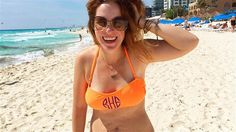 Rachel Hollis has become a swimsuit role model. Over the weekend, Hollis proudly embraced the battle wounds from her pregnancies by...