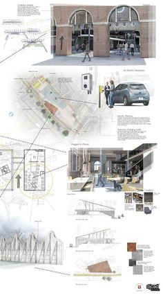 DJCAD Duncan of Jordanstone College of Art & Design, University of Dundee, Scotland. BDes [Hons] Interior Environmental Design Transport the Future Project by Faye Marshall. Degree Show May 2015