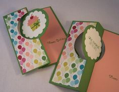 Flip Create a Cupcake by Robin Lee - Cards and Paper Crafts at Splitcoaststampers