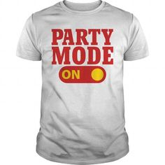 Party Mode on Baby & Toddler Shirts