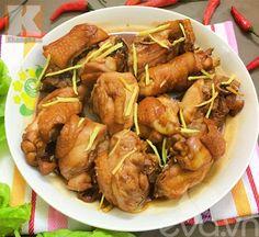 Cách làm món gà rang sốt chua ngọt lạ miệng mà hấp dẫn - http://congthucmonngon.com/161732/cach-lam-mon-ga-rang-sot-chua-ngot-la-mieng-ma-hap-dan.html
