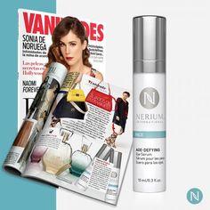 El Suero Anti-Edad para Ojos de Nerium hace su primera aparición en la Revista Vanidades!