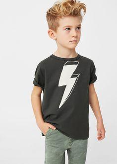 Camiseta algodón imagen - Niños | MANGO Kids España