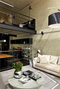 A loft in industrial style