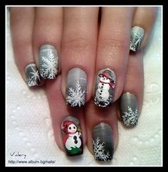 Christmas by ValeryFilipova - Nail Art Gallery nailartgallery.nailsmag.com by Nails Magazine www.nailsmag.com #nailart