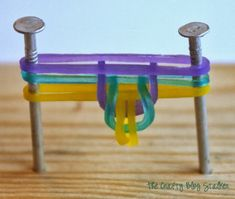 FISHTAIL Stretch Bracelet Tutorial. No loom required. - rainbow loom rubber band