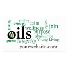 Bold Young Living business cards created by This design is available on several paper types and is totally customizable. Young Living Oils, Young Living Essential Oils, Essential Oil Blends, Young Living Business Cards, Business Cards Online, Business Gifts, Young Living Distributor, Massage Business, Business Card Design