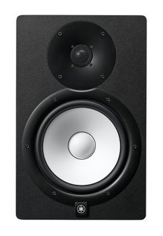 """Yamaha HS8 Active Studio Monitor: Continuing the tradition of the Yamaha NS10Ms, HS8 monitors deliver a flat, accurate response with 8"""" white-cone woofers in a bi-amplified powered design."""
