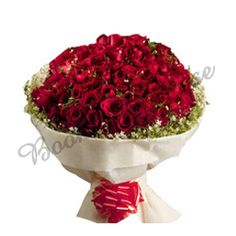 Bunch Of 200 Red Roses