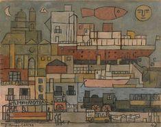 El puerto - (1942) - (Joaquín Torres García)