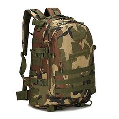 4955920ce59 40L Outdoor Expandable Tactical Backpack Military Sport Camping Hiking  Trekking Bag 4   Learn more by