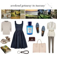 weekend getaway to tuscany Nic And Zoe, Parma, Brunello Cucinelli, Weekend Getaways, Bottega Veneta, Tuscany, Roots, Gucci, Polyvore