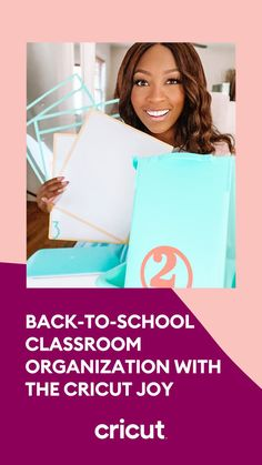 We partnered with educator and influencer, Patrice Jenkins, to create 3 simple back-to-school classroom organization projects! Craft custom book bins, dry erase boards, and folders with Smart Vinyl materials and your Cricut Joy machine. Simply: 1. Gather your tools and materials 2. Customize your label designs 3. Click Make It 4. Weed and adhere your designs to your classroom organization supplies Just like that, you'll have simple yet standout personalized classroom organization supplies! Classroom Projects, School Classroom, Classroom Themes, Classroom Organization, Book Bins, Educational Crafts, School Items, Custom Book, Back To School Supplies