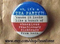 oh, it's a TEA PARTY