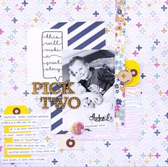 Pick Two - Scrapbook.com - Don't forget to journal those nighttime rituals! They will be wonderful to remember when the kids are grown.