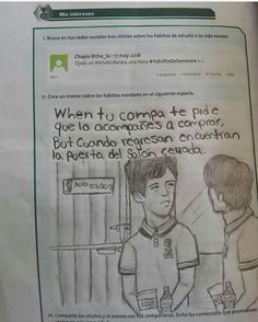 Read :v from the story [ LUNA DE MOMOS by ArisuGamer (Salte del ciber) with reads. Memes Humor, Fb Memes, Funny Memes, Jokes, Funny Videos, Funny Spanish Memes, Spanish Humor, Mexican Memes, Humor Mexicano