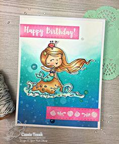Little Darling Mermaid stamp
